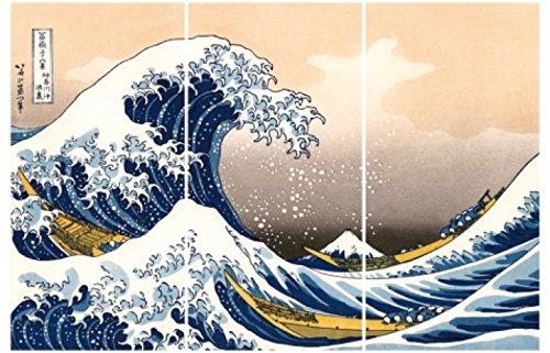Katsushika Hokusai - La Gran Ola De Kanagawa