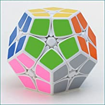 EASYTAR 2x2 Megaminx Speed Cube Puzzle - White Easier Than Gigaminx and Teraminx