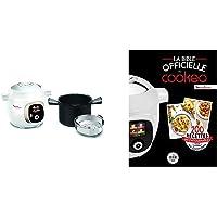 Moulinex Multicuiseur Intelligent Haute Pression 6 L 150 Recettes 6 Modes de Cuisson et La bible officielle du cookeo…