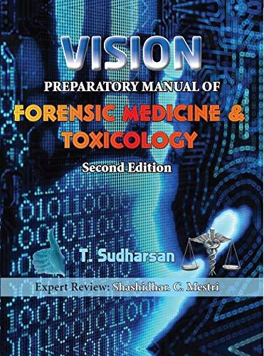 Vision Preparatory Manual Of Forensic Medicine 2nd/2019
