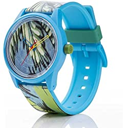 Watch Q & q Smile Solar Floral Collection Mixed Colour - qrp00j027y
