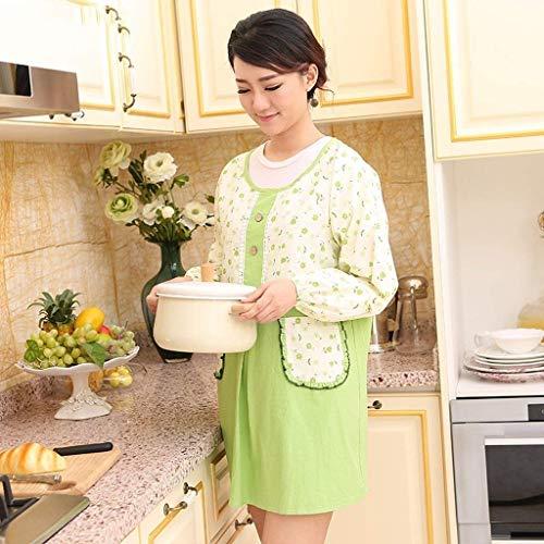 YLCJ Startseite Baumwolle Erwachsene Langarm Schal Wasserdicht Fashion Style Work Wear (Farbe: Grün) Wear Fashion Schal
