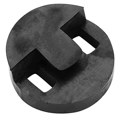 Sourdine pour violoncelle, sourdine ronde en caoutchouc accessoire pour instruments de musique de violoncelle, noir