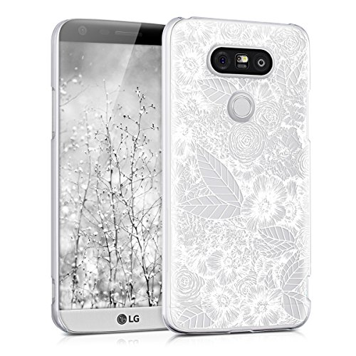 kwmobile LG G5 / G5 SE Hülle - Handyhülle für LG G5 / G5 SE - Handy Case in Weiß Transparent