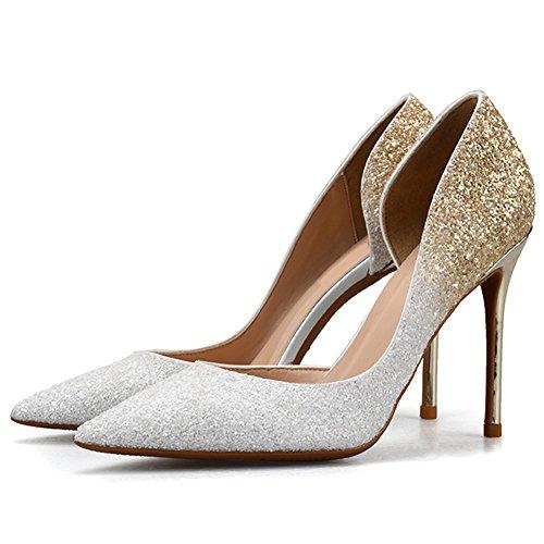 élégant classique femmes chaussures l'escarpin chaussures de soirée camel 41 HJYLZ7eF