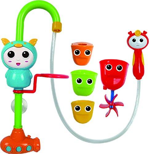 Brigamo 2in1 Wasserspiel Dusche mit Duschkopf und Handbrause, Badewannen Spielzeug