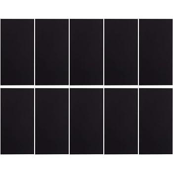 c7b0ae0e993b 10 Pcs Grand Cuir Patch kit, Patch réparation Autocollant, Auto-Adhésif  Imperméable pour Veste Sol canapé CoussinParapluie Artisanat, Noir Et Bleu  (Noir)
