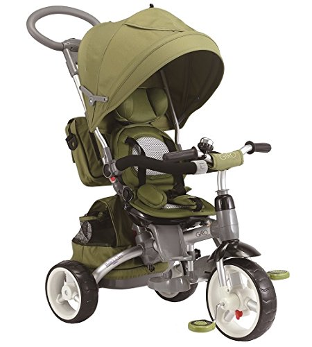 Baby 's Clan Dreirad/Kinderwagen Toilettentrainer 6in 1grün olive
