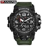 Sport LED Digital Watch Männer Militray Große Zifferblatt Uhren Herren Outdoor Schwimmen Taucher Wasserdichte Männliche Uhr