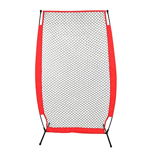 HipHopSport 6.9X3.9ft One Pitch Return, Replacement Pitchback Net, Ball Return Training Screen