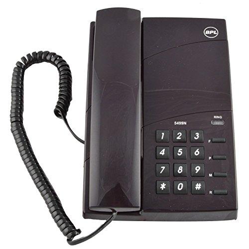 BPL 5499 Corded Landline Phone (Black)
