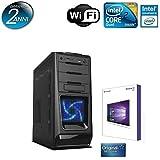 Computer Best Deals - PC DESKTOP ITEK INTEL QUAD CORE CON LICENZA WINDOWS 10 PROFESSIONAL 64 BIT ORIGINALE /WIFI/HD 1TB SATA III/RAM 8GB 1600MHZ/HDMI-DVI-VGA/USB 2.0 3.0/ PC FISSO COMPLETO PRONTO ALL'USO ,PER UFFICIO,CASA,GIOCHI, ITEK CASC02