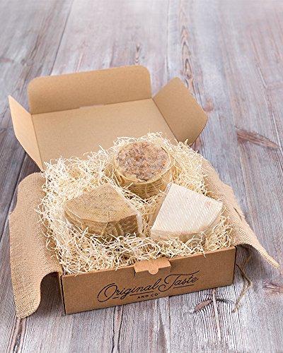 Cesta gourmet QUESO LOVERS. Una caja de experiencias gustativas!…