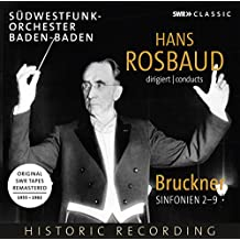 Rosbaud dirigiert Bruckner: Sinfonien 2 - 9 [8 CDs]