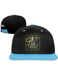 Roronoa Zoro Words Custom Boy Girl Kids Hiphop Hat Cotton Cool Royalblue