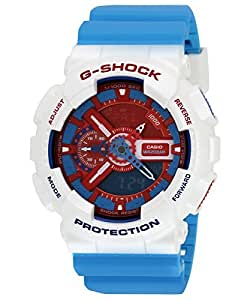 G-Shock World time Analog-Digital Multi-Colour Dial Men's Watch - GA-110AC-7ADR (G446)
