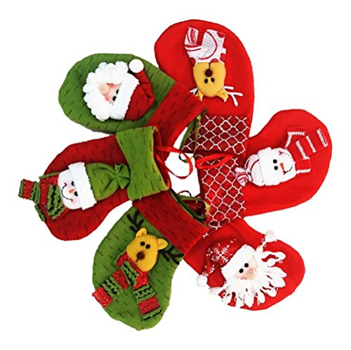 Medias de Navidad Decoraciones Calcetines Decoración de Santa muñeco de nieve del...