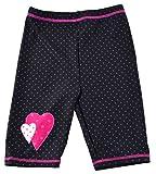 Swimpy Girl's UPF 50 + Short de bain anti-UV pour fille Motif Minnie Mouse Noir 3–4 ans/98 noir Noir 3 - 4 Years/98 - 104 cm