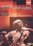 Dvorak - Saint-Saëns : Concertos pour violoncelle / Rostropovitch, Giulini
