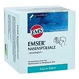 Emser Nasenspülsalz physiologisch - Nasendusche bei Erkältung, Allergie und zur Nasenpflege - 50 x 2,5 g Beutel