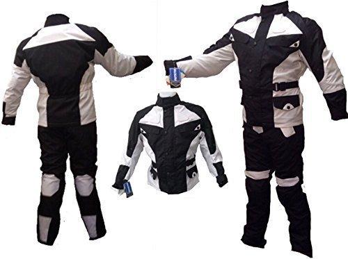 AZ - traje protector para motocicleta o ciclismo para hombres/mujeres, de 2piezas,...