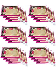Kuber Industries 24 Piece Non Woven Saree Cover Set