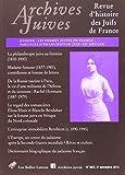 Telecharger Livres Archives Juives n 48 2 Les femmes juives en France parcours d emancipation XIXe XXe siecles (PDF,EPUB,MOBI) gratuits en Francaise