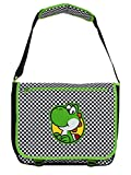 Bioworld Nintendo Super Mario Bros. Yoshi Chequered, Multi-Colour (Mb011107Ntn) Messenger Bag, 46 cm