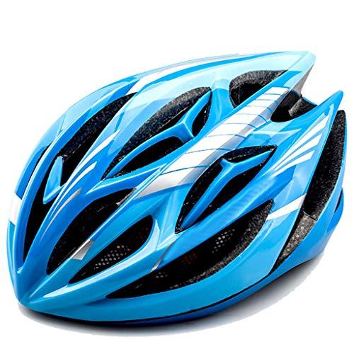 S-TK Mountainbike Reithelm Integriertes Formteil Skelett Mit Insektennetz Helm LED Warnlicht Helm Verstellbarer Komforthelm Herrenhelm