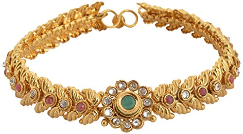 SPE Golden Color with MultiStone Long Anklet for Women (SPE P(A) 21)  available at amazon for Rs.1199