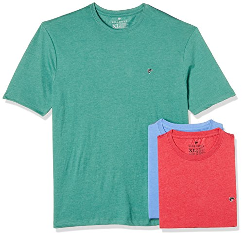Ruggers Men's Solid Regular Fit T-Shirt (Pack of 3)(269969834_Assorted_Small)