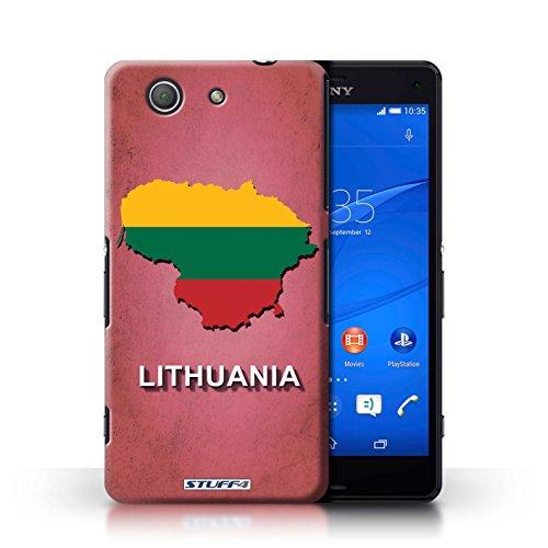 Kobalt® Imprimé Etui / Coque pour Sony Xperia Z3 Compact / Australie conception / Série Drapeau Pays Lituanie/Lituanien