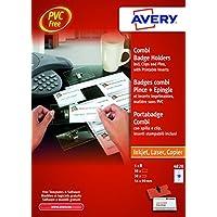 Avery 4820 Kit Portabadge Combi, Trasparente