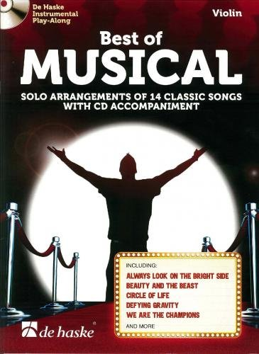 Best of Musical: Solo Arrangements of 14 Classic Songs with CD Accompaniment. Violine (Mittelschwer) par Eric Idle