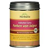 Herbaria 'Farben von Jaipur'  Indischer Curry, 1er Pack (1 x 80 g Dose) - Bio