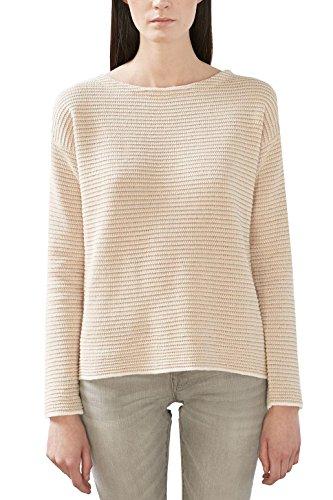 Esprit 017ee1i004, Suéter para Mujer, Multicolor (Nude), 42 (Talla del fabricante: X-Large)