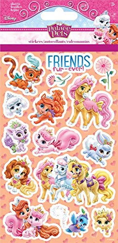 Disney Palace Pets Princess Stickers Party Supplies 4 ct