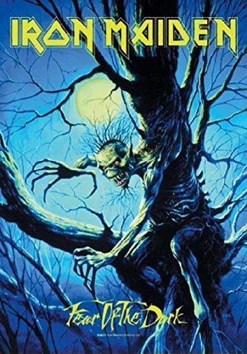 Iron Maiden Poster Bandiera Fear Of The Dark Live
