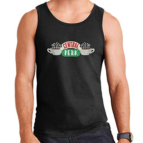 Friends Central Perk Logo Men's Vest Black