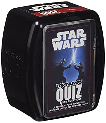 Winning Moves - 0598 - Quiz Star Wars - 500 Questions - Version Française