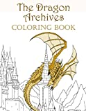 The Dragon Archives Coloring Book