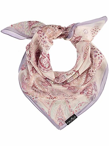 FRAAS Seiden-Nickituch Mit Paisley-Print, Chal para Mujer, Rosa (Rosewood 380),...