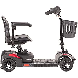 Ability Superstore Scout Mobility Scooter - 4 Wheel