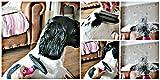 Fellwechsel Fellpflege Hundebürste 2 in 1 Unterwolle Bürste und Fell-Entfilzer mit doppelte Kammreihe - 4