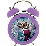 Disney Frozen ELSA und Anna Kinderwecker, Metall, Mehrfarbig, 90 x 110 mm