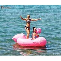 marketboss Cool Large Swan kickboards grande piscina gonfiabile Zattera galleggiante con manici per bambini o adulti Ideale per sport acquatici contenere fino a 440lbs–-- 1,5x 14,9x 0,9m