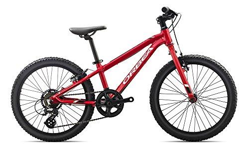 Orbea MX 20 DIRT Kinderrad MTB, 7-Gang 20'', Farbe:rot-weiss