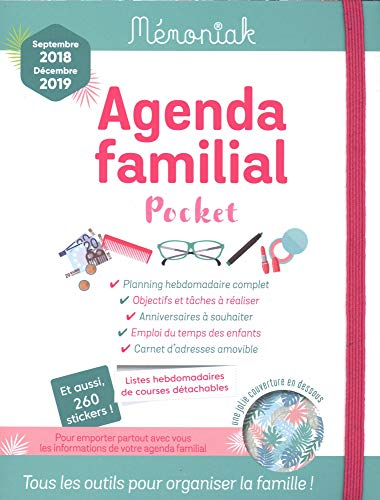 Agenda Familial memoniak Pocket 2018 - 2019 - In Tun Paris Zu Was