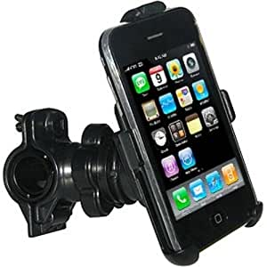 Amzer Bicycle Handlebar Mount for iPhone 1G and 3G/3GS - Black