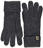 Roeckl Damen Essentials Basic Handschuhe, Schwarz (Anthracite 090), One Size
